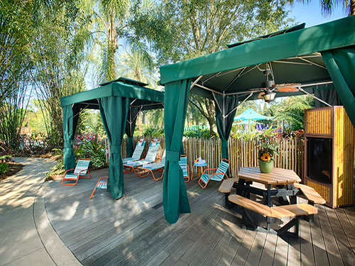 Roa's Rapids Family Cabanas at Aquatica Orlando