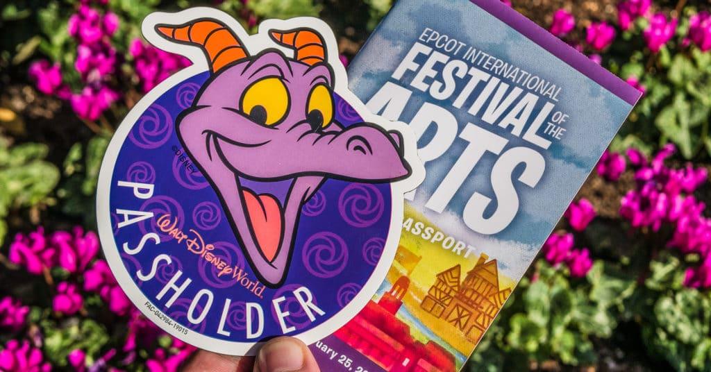 2019 Festival of the Arts Figment Passholder Magnet