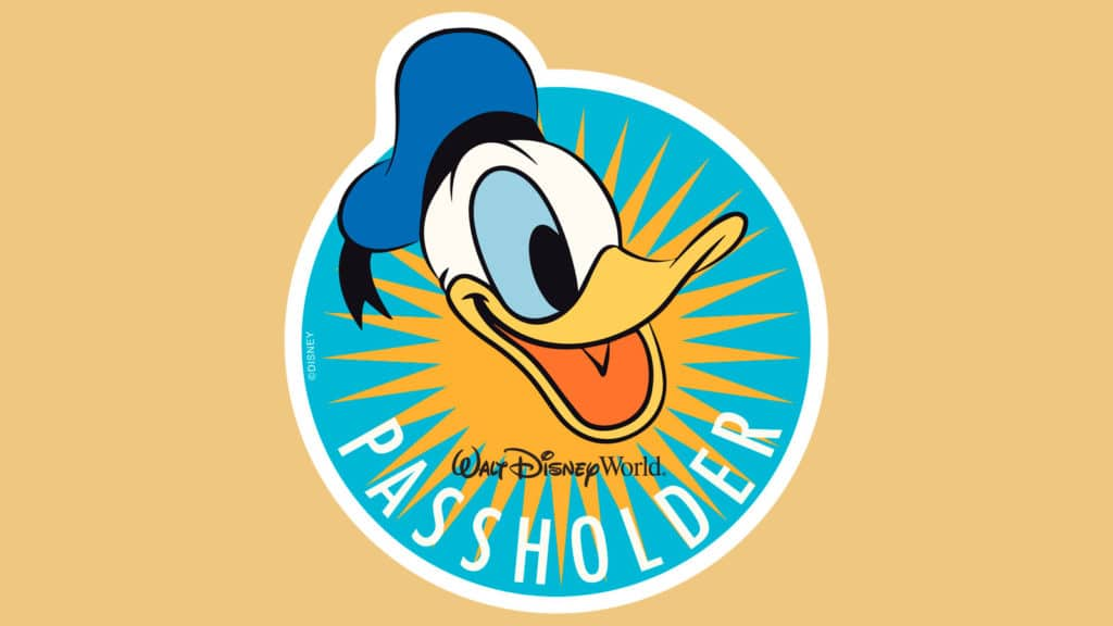 Summer 2018 Donald Duck Magnet