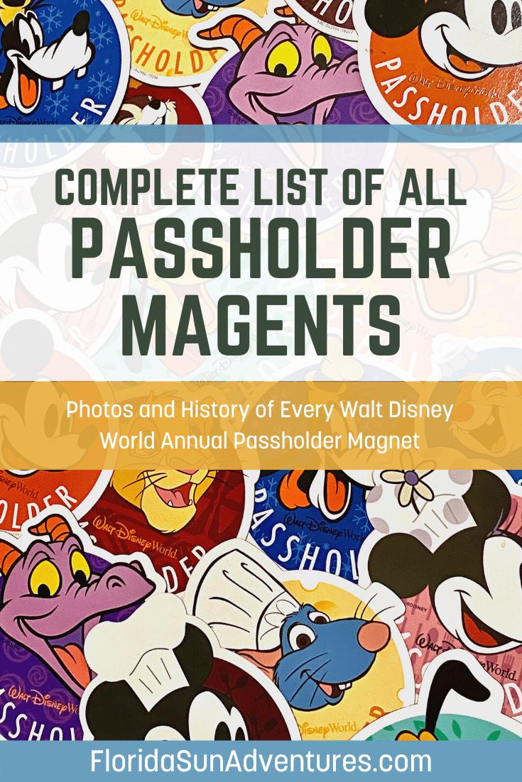 Disney passholder magnet pinterest share