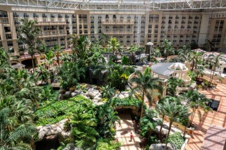 Gaylord Palms Orlando Resort 4.5 Acre Atrium Arieal View