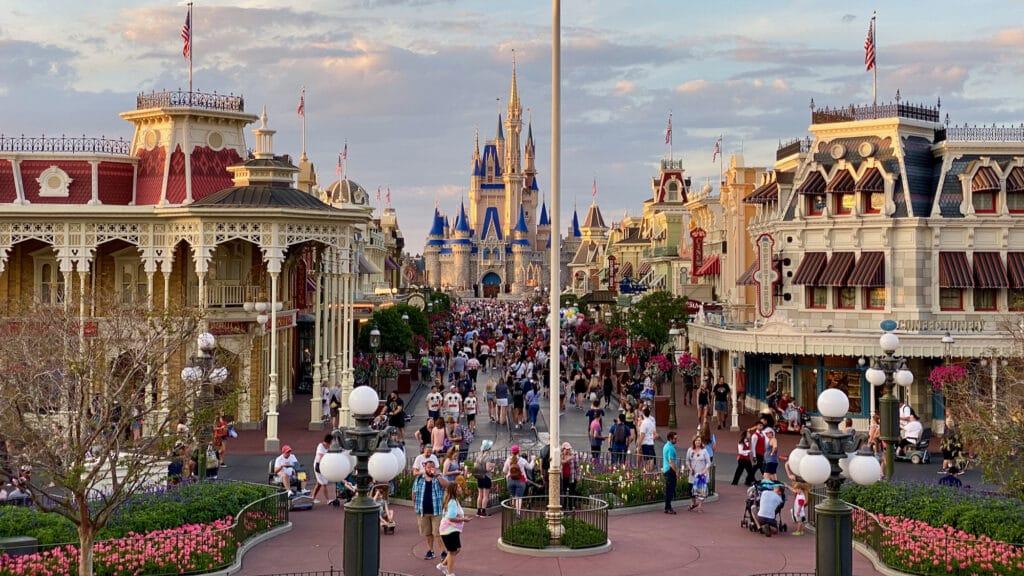 Mainstreet USA at Magic Kingdom